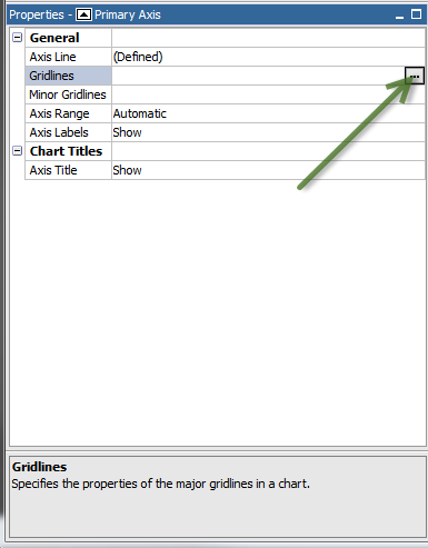 Removing Chart Gridlines and Plot Area Background in Report