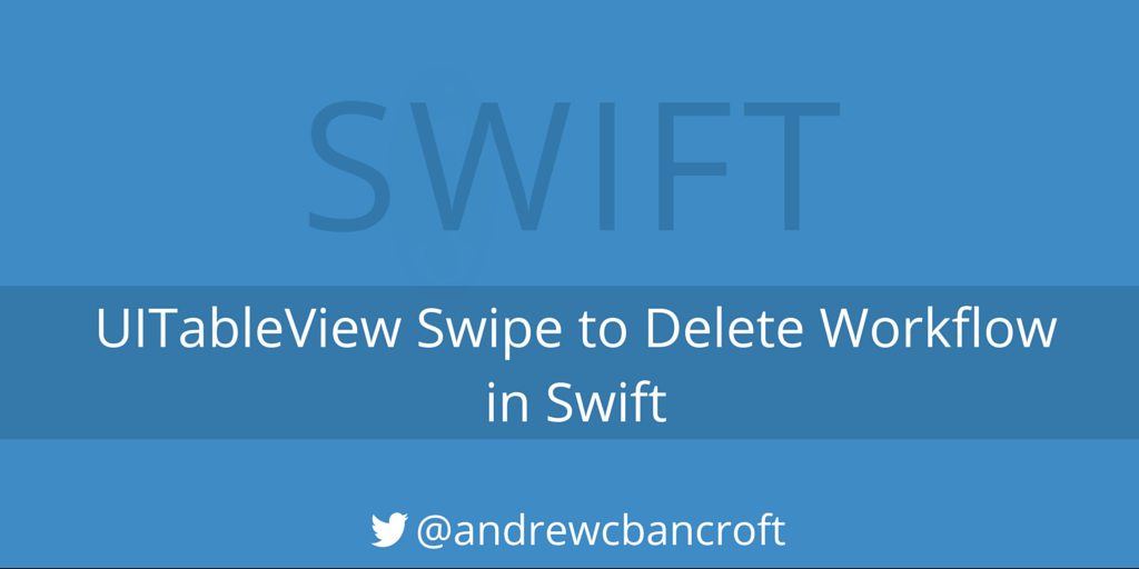 how to delete a slide in swif