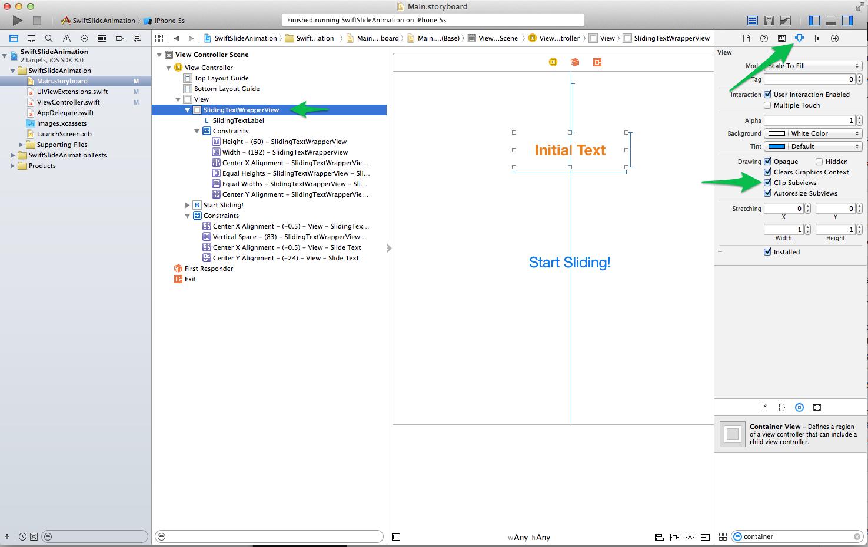 Slide In Animation in Swift
