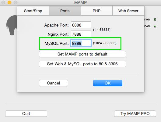 "Fix MAMP, MySQL Workbench ""Failed to Connect to MySQL"""
