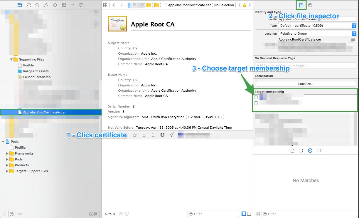 Receipt Validation – Verifying a Receipt Signature in Swift