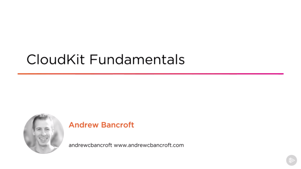 CloudKit Fundamentals